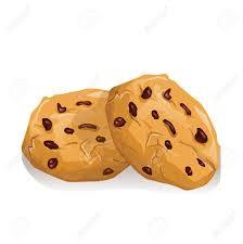 chocolate cookies Stock Vector