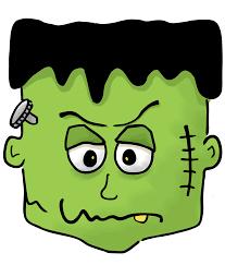 Frankenstein Pumpkin Stencil Free by Halloween Frankenstein Clipart Black And White Clipartxtras