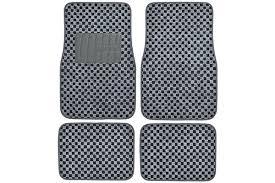 Bmw X5 Carpet Floor Mats by Motor Trend Checkered Carpet Floor Mats Free Shipping