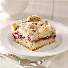 Raspberry Streusel Coffee Cake Recipe