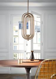Turner Pendant Lamp Is An Art Deco Lighting Fixtures Handmade In Brass And Aluminum That Boasts All The Most Special Elements Of This Design Movement