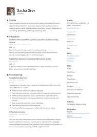 Volunteer Resume Sample & Writing Guide   + PDF's   2019 9 Elementary Education Resume Examples Cover Letter Write A Resume Career Center Usc 21 Inspiring Ux Designer Rumes And Why They Work Free Sample Template Writing Real Estate Agent Guide Genius Best Communications Specialist Example Livecareer Teacher 2019 Examples Templates Orfalea Student Services Tips Internship Samples College Education Curriculum Vitae