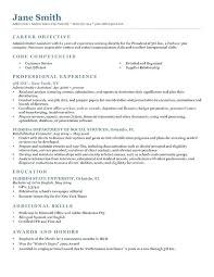 Service Writer Resume Example Powerful Template Classic 2