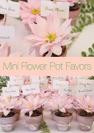 Mini Flower Pot Favors