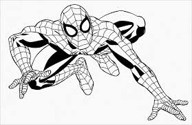 Superhero Colori Simple Coloring Pages