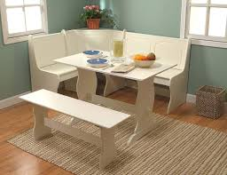 Target Marketing Systems 3 Piece Breakfast Nook Dining Set With A L-Shaped  Storage Bench And A Trestle Style Dining Table And Bench, Antique White East West Fniture 5 Piece Hepplewhite Modern Breakfast Nook Ding Table Set 52 Corner And Chairs Kitchen How To Mix Decor Styles A Velvety Update 12 Ways Make A Banquette Work In Your Hgtvs Bremerton 3piece By Coaster At Dunk Bright Glass Top Room Sets 58 White 7 Pc Nook Setbreakfast And 6 53 With Bench Storage Best 25 Ideas For Small Decorate Sunny Designs Bayside With Side Chair