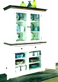 Small Hutches Dining Room White Corner Cabinet Hutch Cabinets Mesmerizing Sets With