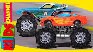 Scary Monster Trucks – Kids YouTube
