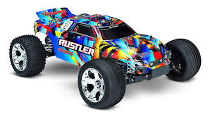 100 Stadium Truck Buy Traxxas 370544 Rustler 110 Scale 2WD With TQ 24