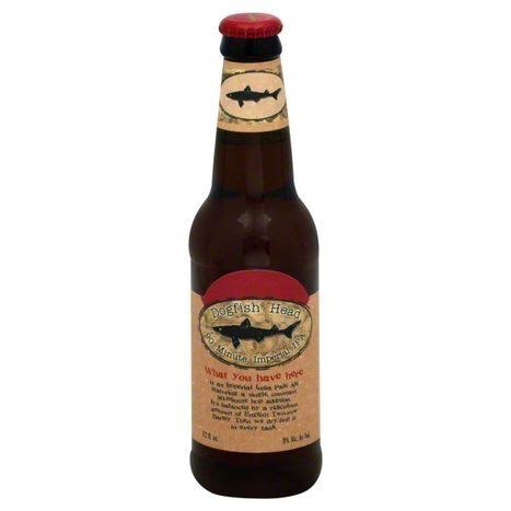 Dogfish Head Beer, Imperial IPA, 90 Minute - 12 fl oz
