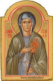 clare icon saints icons and saints