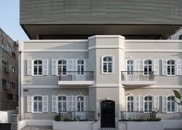 100 Apartment Architecture Design Bar Orian Architects Tops Historic Tel Aviv Villa With