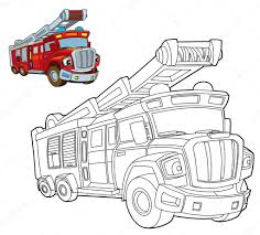 Fire Truck- Coloring Page — Stock Photo © Illustrator_hft #39979773 Easy Fire Truck Coloring Pages Printable Kids Colouring Pages Fire Truck Coloring Page Illustration Royalty Free Cliparts Vectors Getcoloringpagescom Tested Firetruck To Print Page Only Toy For Kids Transportation Fireman In The Letter F Is New On Books With Glitter Learn Colors Jolly At Getcoloringscom