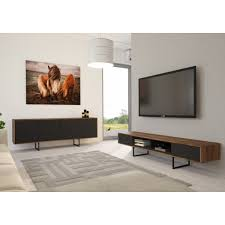 rtv regal sideboard lowboard kommode wohnzimmer tv möbel abato rtv fx o walnuss