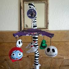Nightmare Before Christmas Baby Room Decor by Nightmare Before Christmas Crib Mobile 5 Figures