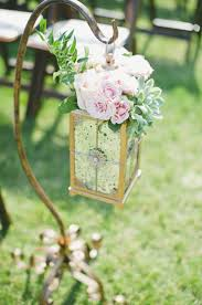Rustic Wedding Ceremony Lantern Aisle Decor