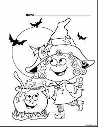 Marvelous Halloween Witches Coloring Pages Printable With And Very Scary