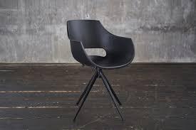 kawola stuhl zaja esszimmerstuhl kunststoff drehbar schwarz