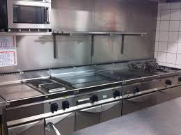 et cuisine professionnel chaud