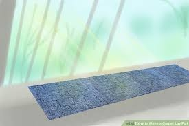 How Does A Carpet Stretcher Work by 3 Easy Ways To Make A Carpet Lay Flat Wikihow
