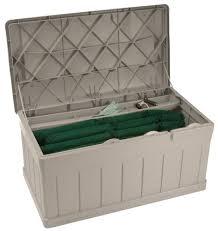 Suncast Resin Deck Box 50 Gallon by Amazon Com Suncast Db9750 Extended Deck Box Seat Garden U0026 Outdoor
