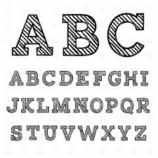 16 Fonts For Free Vector Art Images Free Graphic Letters Alphabet