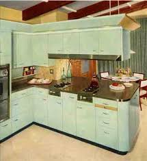 St Charles Steel Kitchen Cabinets A Look At Their Line Circa 1957 Aqua Kitchen1950s KitchenPastel KitchenRetro