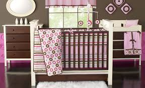 Pink Crib Bedding by Bacati Mod Dots And Stripes Mod Dot Crib Bedding Bacati A2zchild