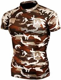 Cheap Camo Bathroom Sets by Amazon Com New 063 Skin Tight Compression Base Layer Camo T Shirt