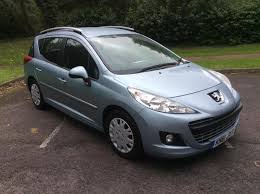 Peugeot 207 SW 1 6HDi 92 2012MY Active £20 tax Cheap Family Car