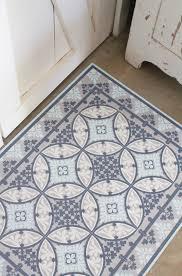 moroccan tile vinyl floor mat moroccan