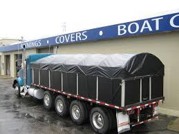 Trailer Tarps & Covers For Semi Trucks | Muskegon Awning Mesh Tarp 6x8 For Pickup Trucks Green Cover Your Bed And Truck Cover Manufacturers Stand At The Ready With Products Truck Covers Delta Tent Awning Company Arm Systems Gallery Pulltarps Rollable Tarps Technick Textlie Heavy Duty 18oz Lumber 24x27 8 Drop Tarps Getting Around Tarping Equipment Trucking Info 12 Ton Cargo Unloader