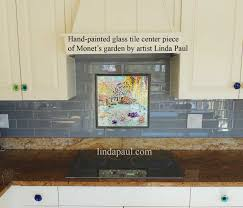 Ideas For Tile Backsplash In Kitchen Fishing With Picasso Tile Mural Backsplash