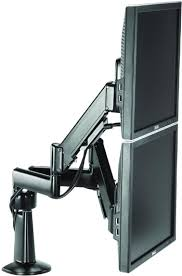 chief kcy220 height adjustable dual arm desk mount dual monitor