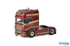 100 Truck Model WSI Hendrik Postma Scania R6 Topline 012462 Truck Model TRUCKMO