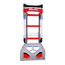Milwaukee Hand Truck Convertible Fold Up Nose Plate 2-in-1 Dolly ... 10 Inch Hand Truck Wheel Suppliers And Shop Trucks Dollies At Lowescom Ladder Cart Ii Best 2018 Milwaukee Foldup 33884 150 Lb Vertical 300 Horizontal Capacity Folding Convertible 2 In 1 Lb Shifter Flat Rock N Roller Mini Rmh1 Products 800 Phandle Truckdc47118 The Home Depot 600 Flow Back Handle Truckdc47109 Amazoncom 60137 4in1 With Truckdc59480