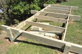 How To Build A Simple Shed Ramp by How To Build A Post U0026 Beam Shed Foundation On A Slope One