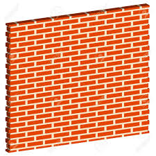 3D Clipart Brick Wall Pencil And In Color 2018