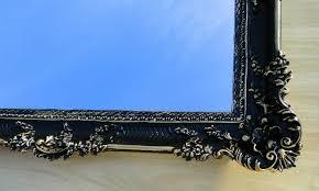antyki i sztuka wandspiegel barock rechteckig antik