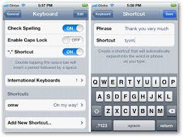 How to Create Keyboard Shortcuts in iOS 5 on iPhone and iPad