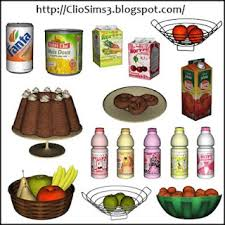 Kitchen Decor Set 2 By Dada For Sims 3