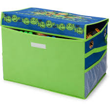 Walmart Bed In A Box by Disney Or Nickelodeon Toddler Bed With Bonus Collapsible Toy Box