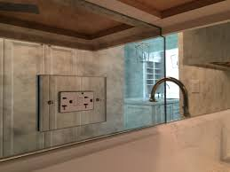 mirror backsplash cost mirror tile adhesive how to install mirror