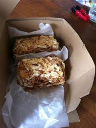 burnt almond cake Picture of Prantl s Bakery Pittsburgh
