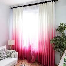 rosa lila vorhänge für die wohnzimmer grün gradient semi blackout tuch vorhänge für die schlafzimmer blau tüll cortinas