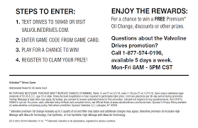 Play Our Valvoline Drives Game! - Evans Tire & Service Centers