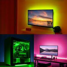 details zu diy striplight tv usb led streifenband computer pc hintergrundbeleuchtung 1 5m