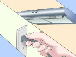 Top Ductless Bathroom Fan With Light by How To Install A Range Hood 14 Steps With Pictures Wikihow