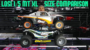 LOSI 1/5 MONSTER TRUCK XL 4WD Size Comparison - 5T, DBXL, BAJA, YETI ...