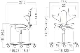 Hag Capisco Chair Manual by Capisco Puls Ergonomic Office Chair Fully